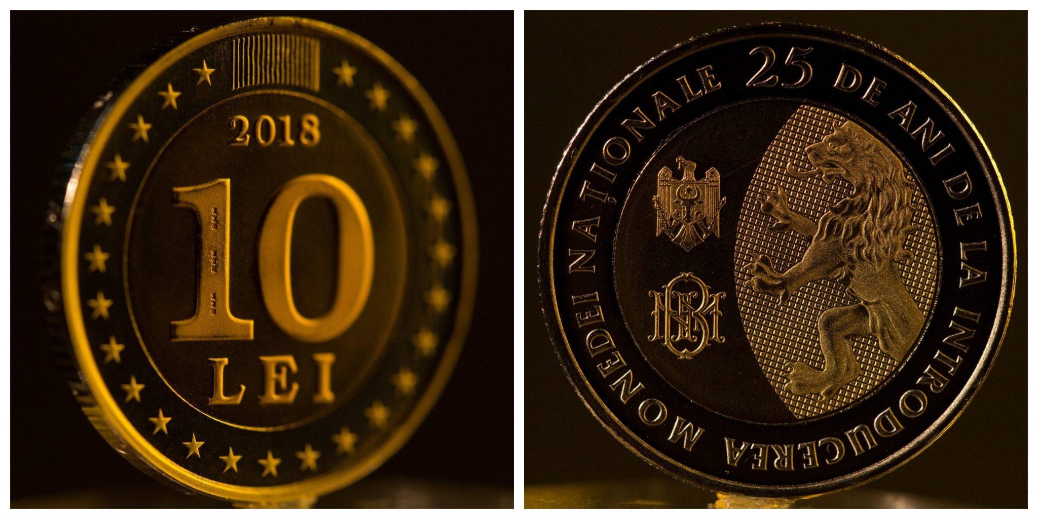 VIDEO | Banca Națională a pus în circulație moneda de 10 lei