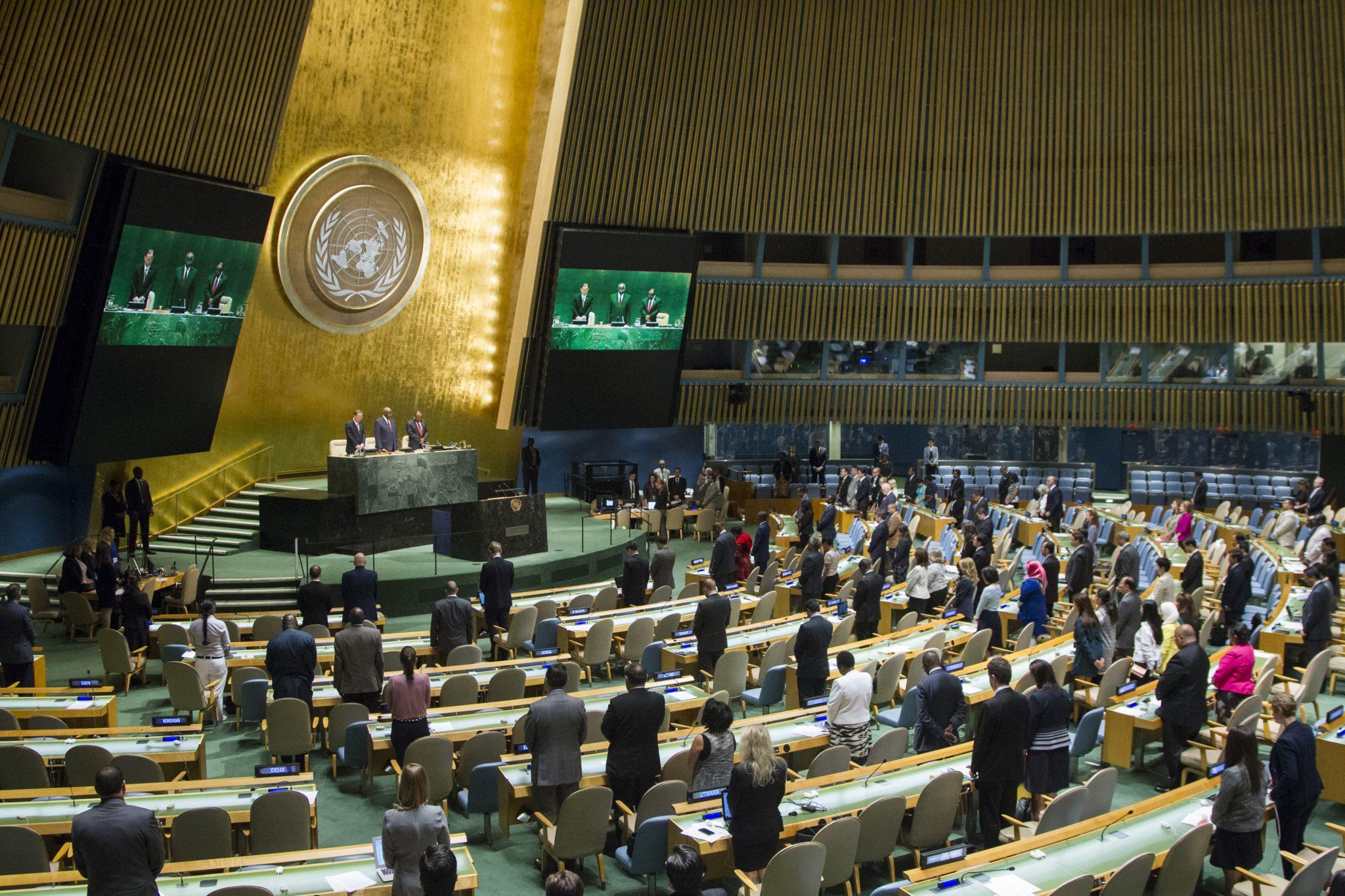 Генассамблея ООН поддержала резолюцию о нарушении прав человека в Крыму