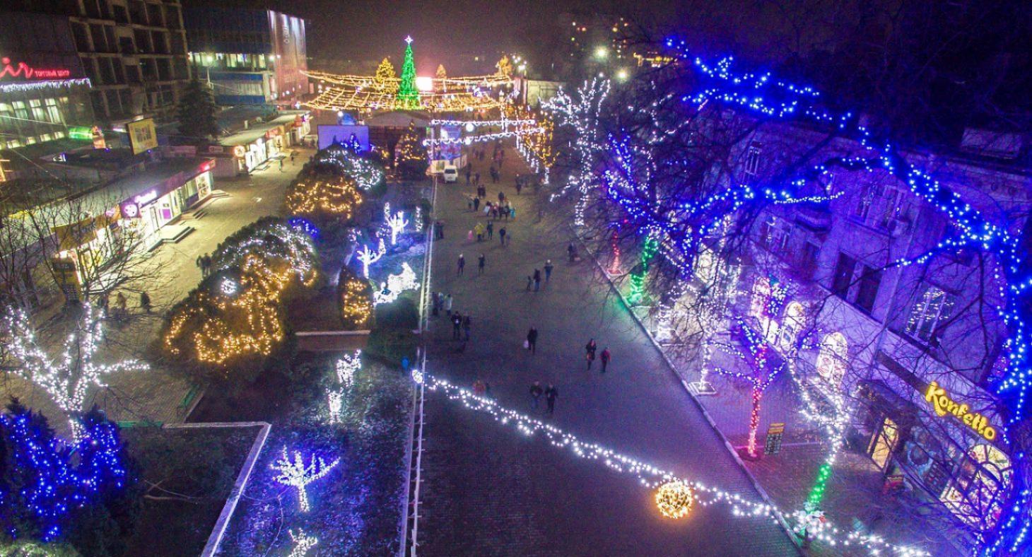FOTO | В центре города зажгут новогодние огни