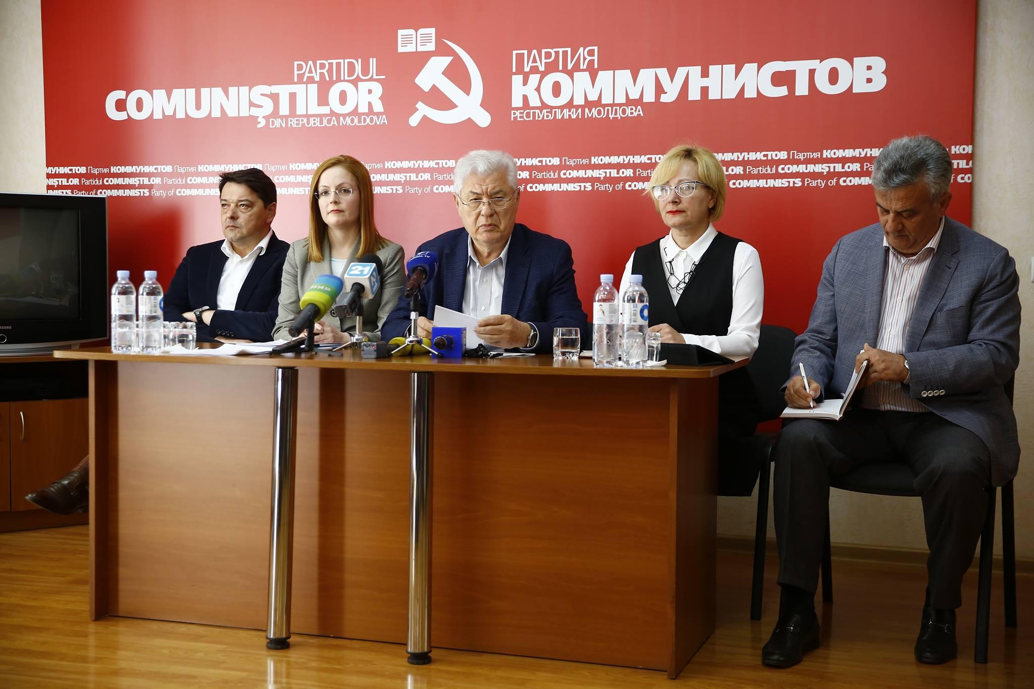 Коммунисты примут участие в выборах, но байкотируют референдум