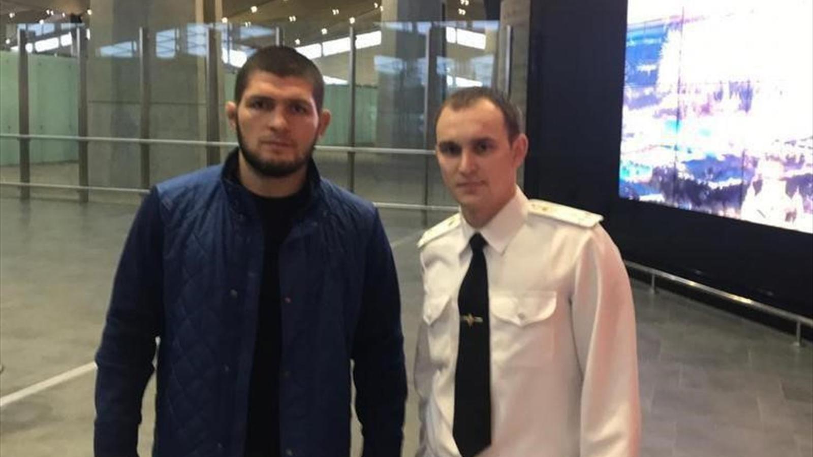 Нурмагомедова задержали в аэропорту, перепутав его с террористом