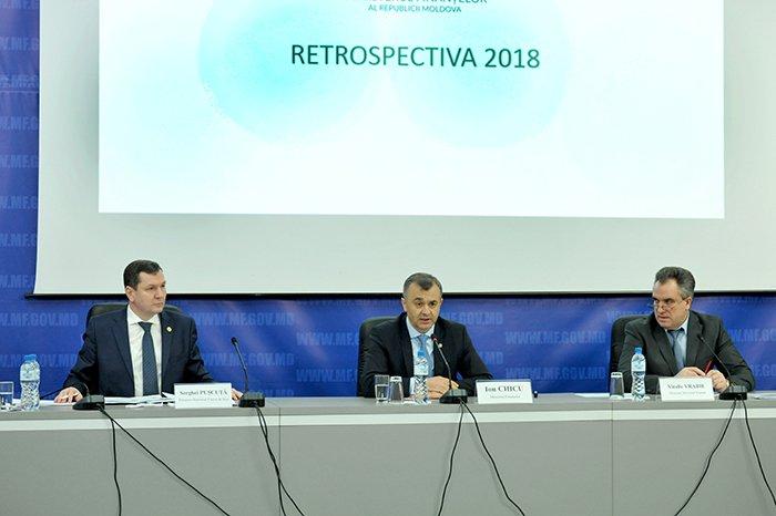 Serviciul Fiscal de Stat a prezentat rezultatele de activitate pentru anul 2018
