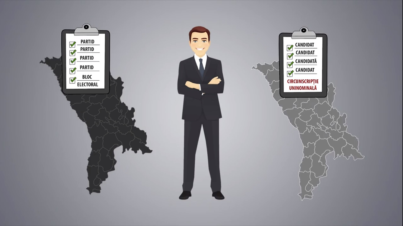 VIDEO | Cum votăm la Alegerile parlamentare din 24 februarie