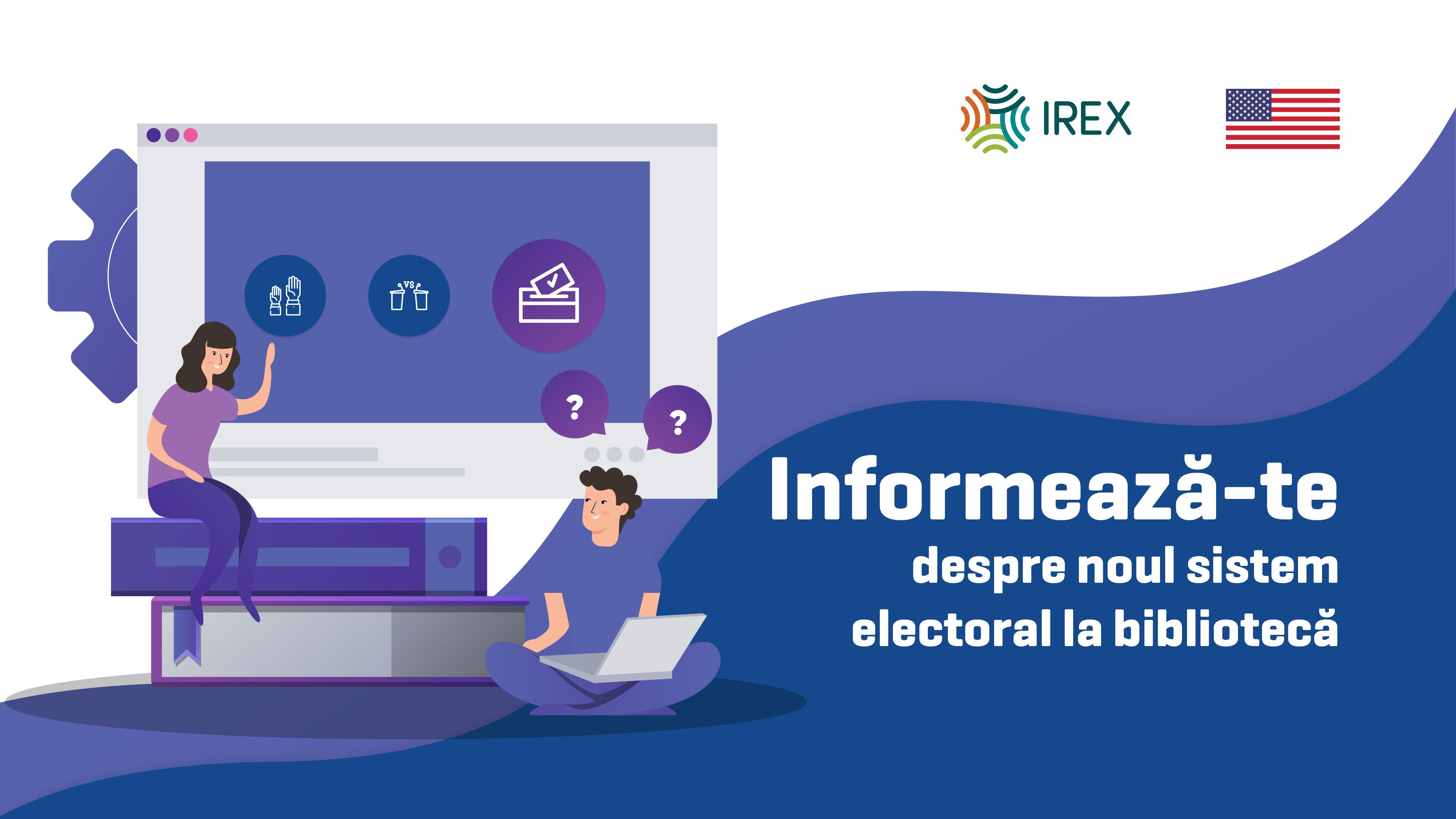Biblioteca devine o platformă neutră de informare în domeniul electoral