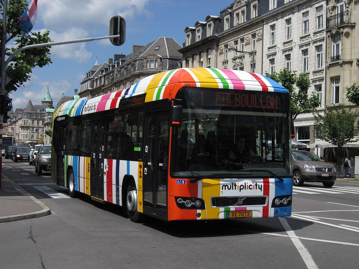 Pentru prima dată în lume, în Luxenburg transportul public va fi gratis