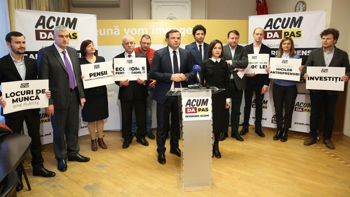 Alexandru Slusari, Liviu Vovc și Ruslan Verbițchi au anunțat în care circumscripții candidează din partea blocului ACUM