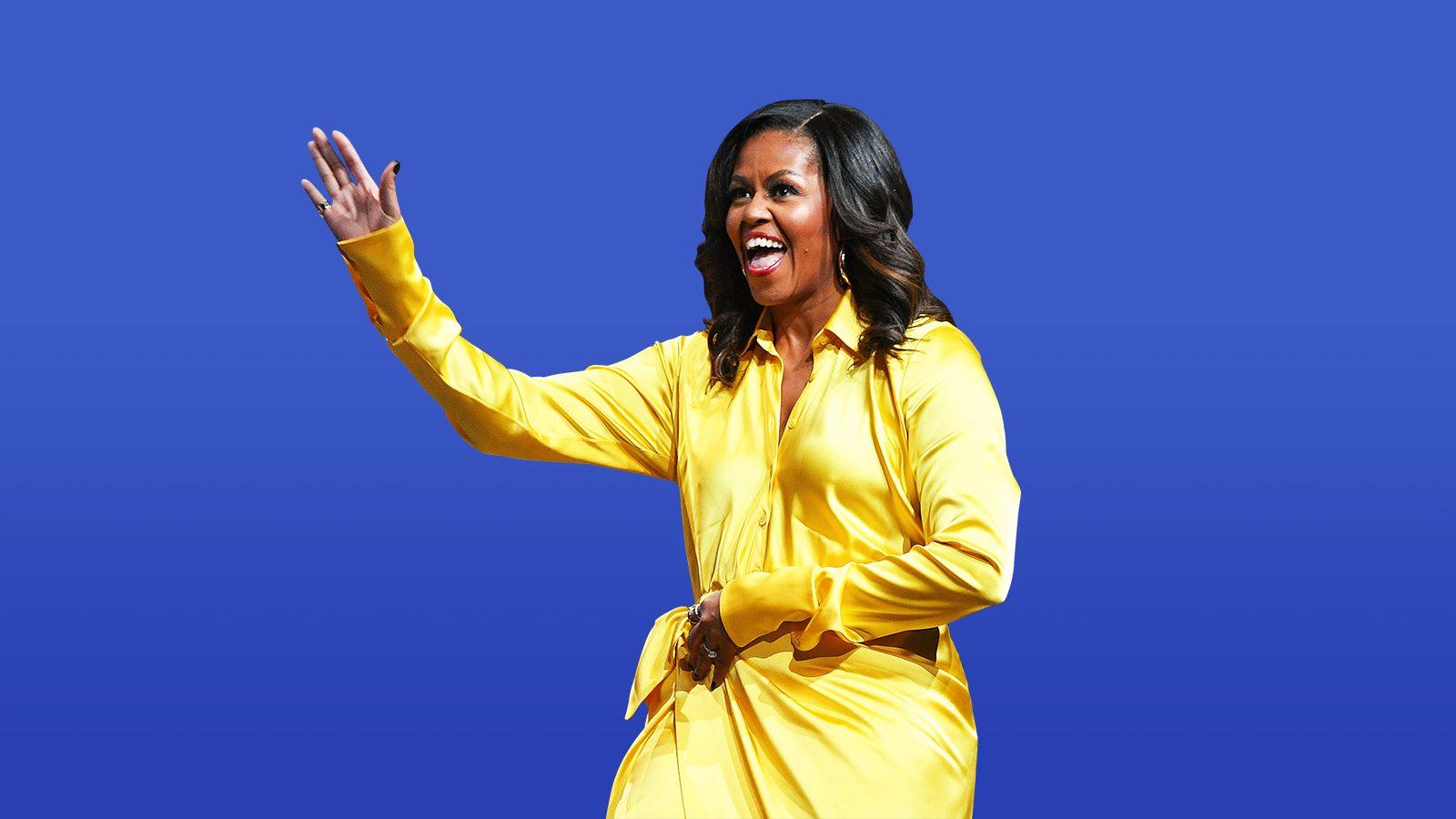Michelle Obama a devenit cea mai admirată femeie în Statele Unite, depăşind-o pe Hillary Clinton