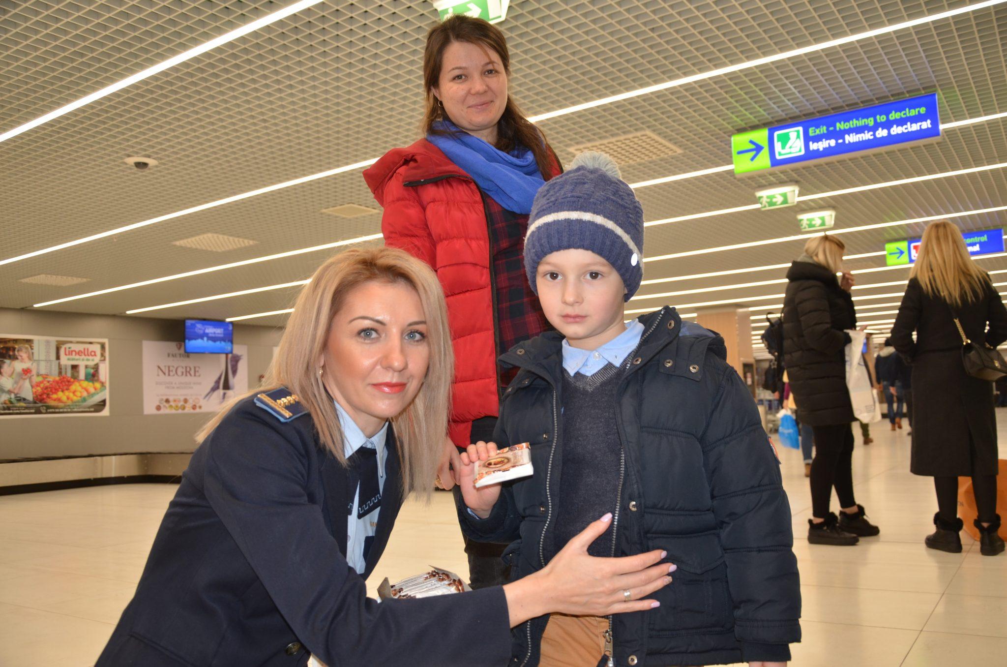 Ciocolate pentru micii călători cu ocazia sărbătorilor de iarnă