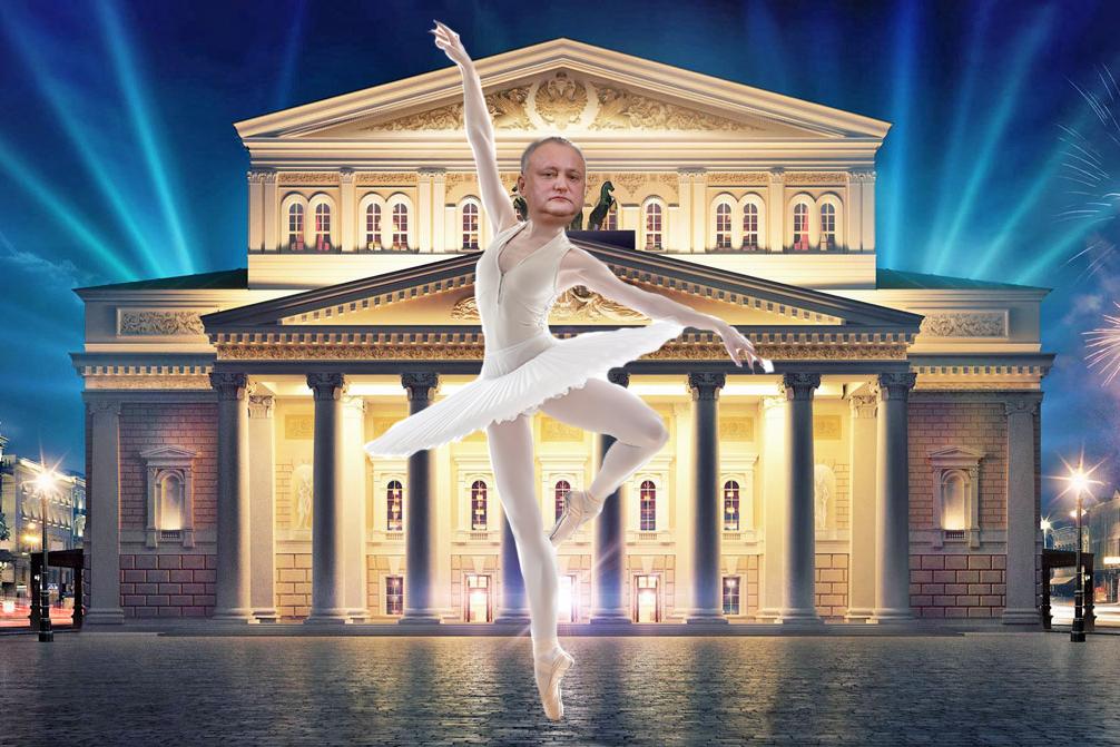 Anatol Moraru// Ce-I încurcă lui Dodon să devină balerin de Bolșoi Teatr