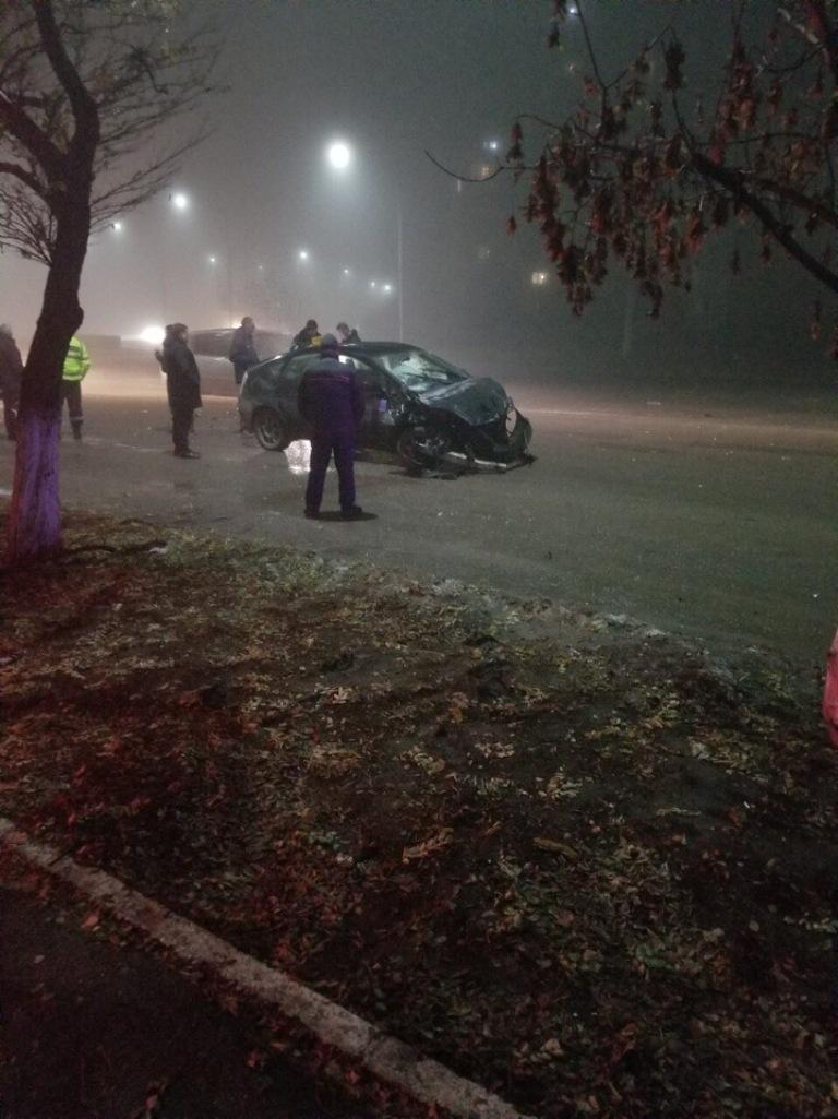 ФОТО|ДТП в Бельцах. Водитель скрылся с места преступления