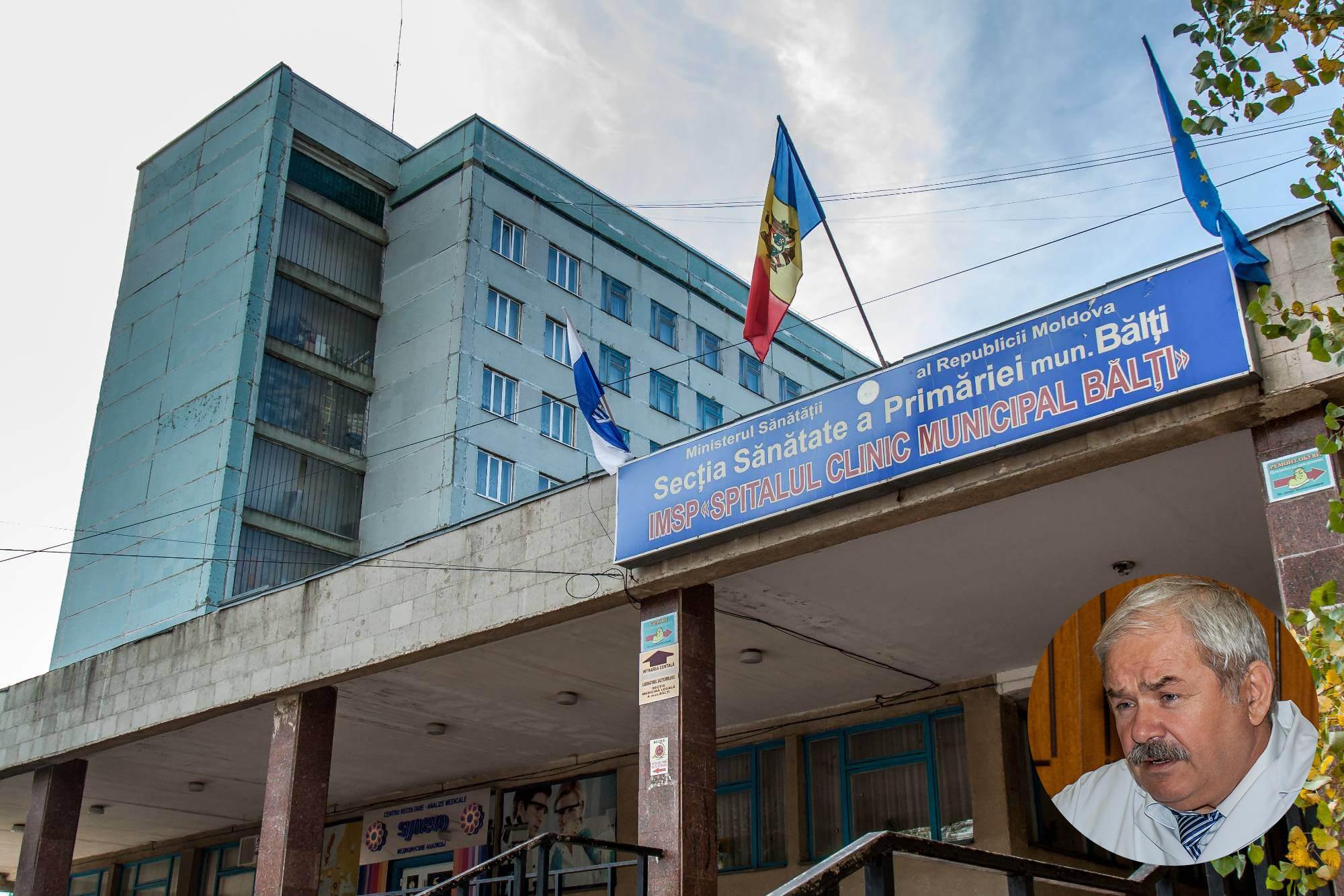 Директор Бельцкой больницы ответил на обвинения Григоришина