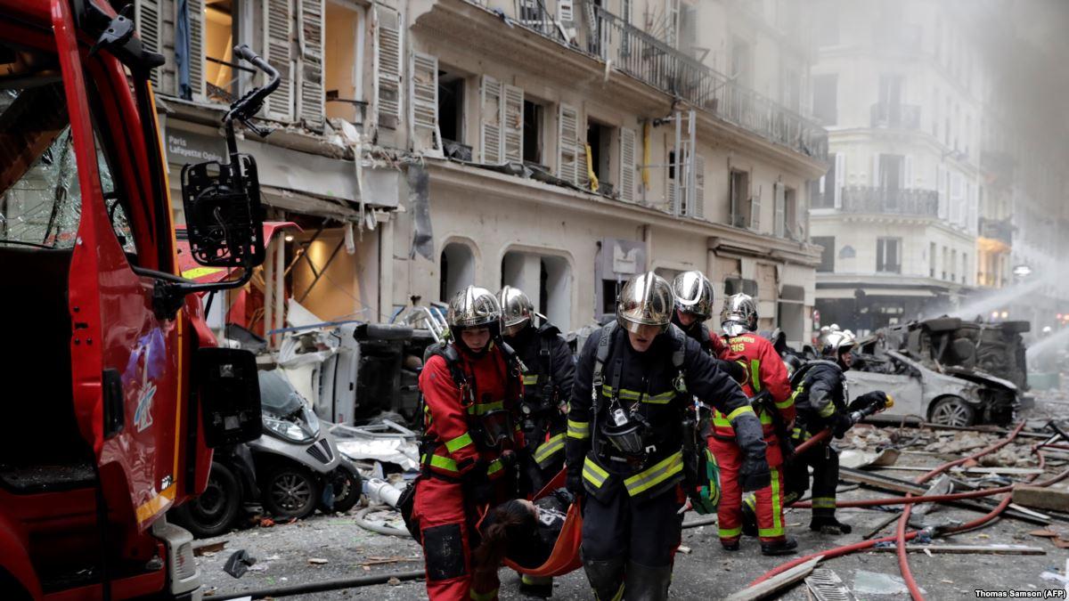 Четыре человека погибли в результате взрыва в Париже
