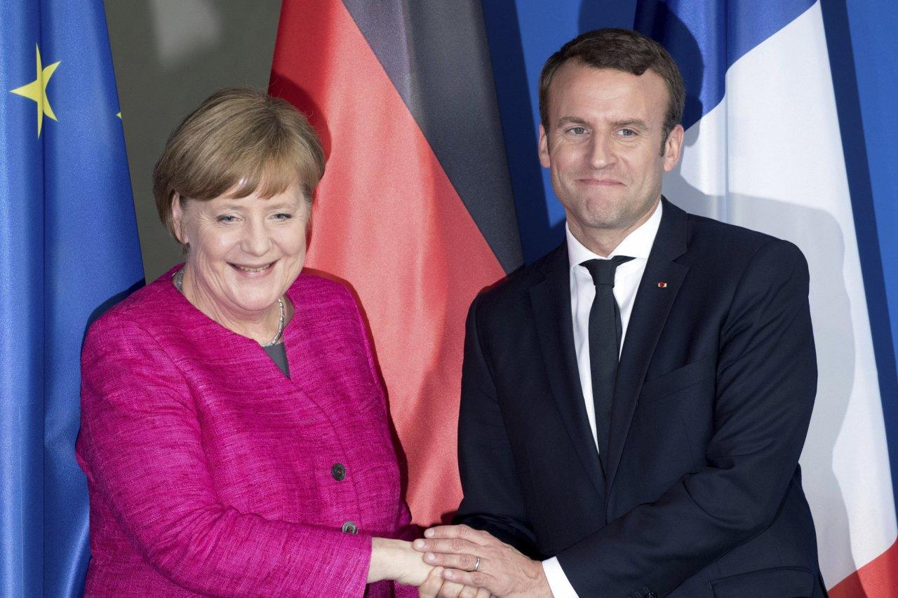 Merkel şi Macron vor semna un nou tratat bilateral de cooperare
