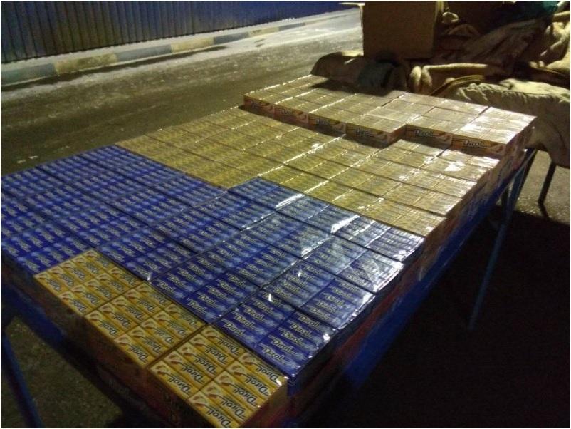Un moldovean din Soroca a încercat să introducă prin contrabandă gumă de mestecat pe la Otaci