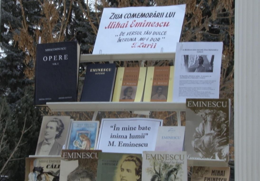 Mihai Eminescu sărbătorit la Bălți