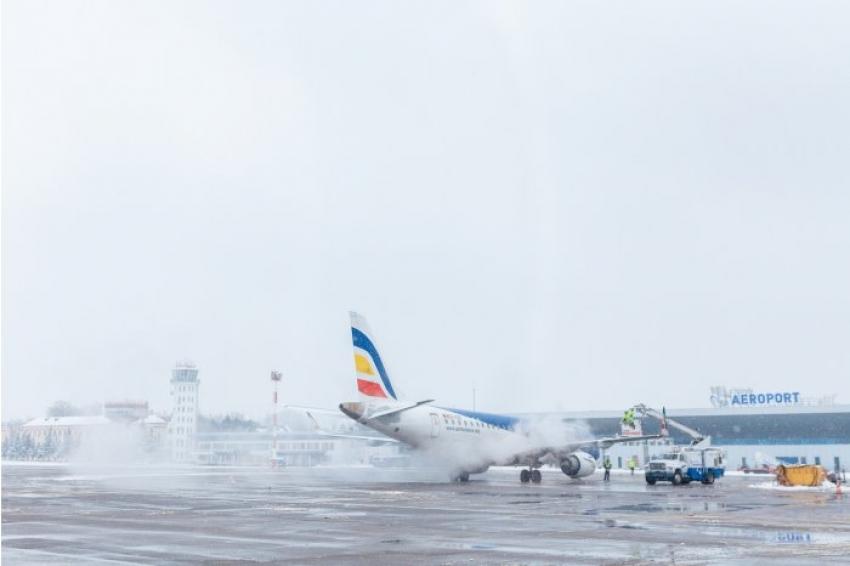 Mai multe curse aeriene au fost anulate sau reținute