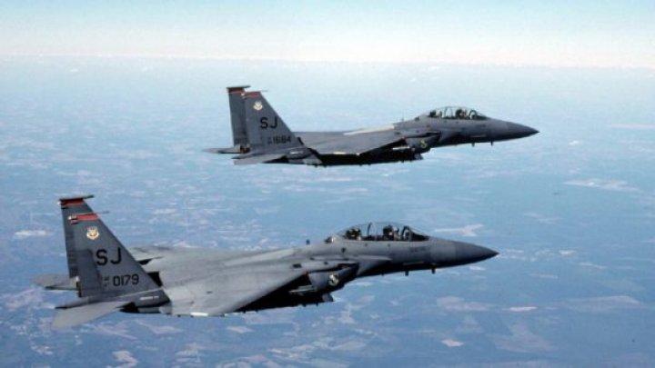 Două bombardiere ruseşti, interceptate de avioane de vânătoare canadiene şi americane