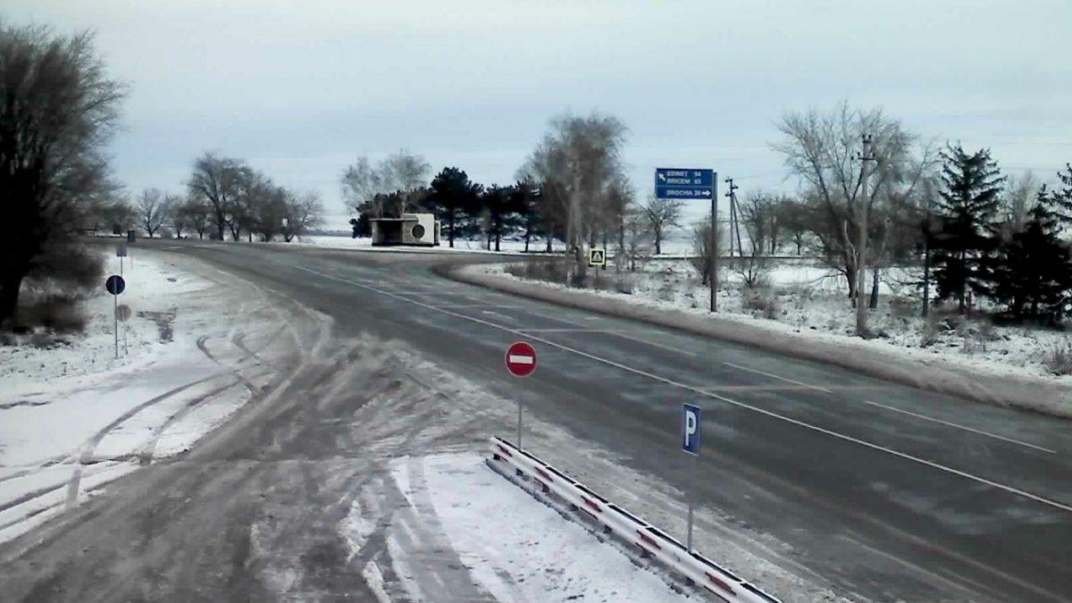 Pe mai multe drumuri din țară s-a format ghețuș