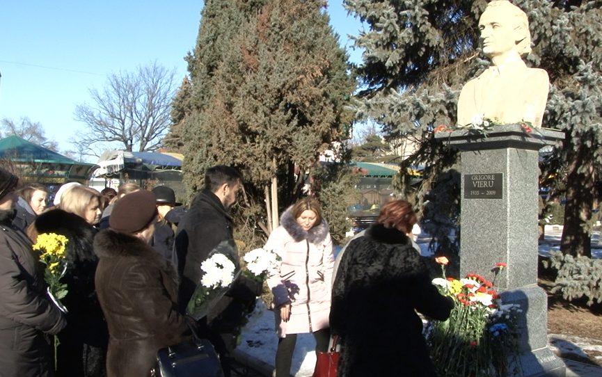 VIDEO | Activitate de comemorare a poetului Gr. Vieru la Bălți