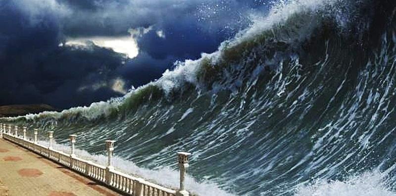 Schimbările climatice sporesc riscuri de tsunami