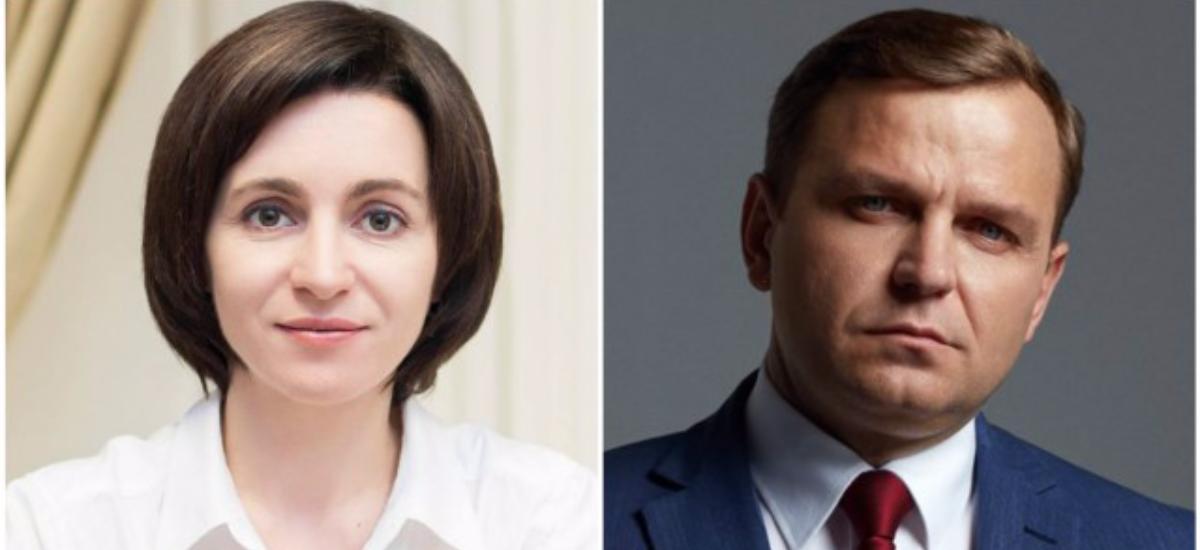 Maia Sandu și Andrei Năstase și-au declarat averile