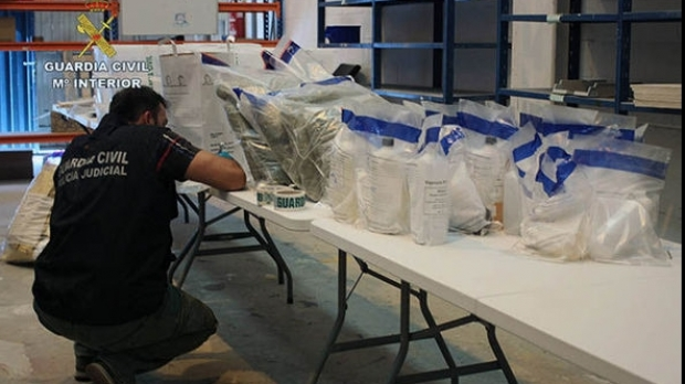 Poliția spaniolă a confiscat  2.700 kg de marijuana. Printre traficanți se numără și cetățeni din România şi Republica Moldova