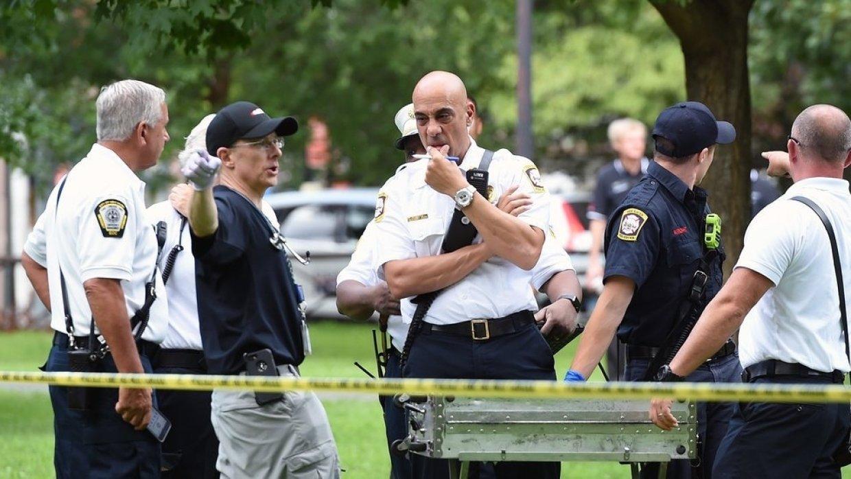 В США бывшего полицейского приговорили к почти семи годам за убийство чернокожего подростка