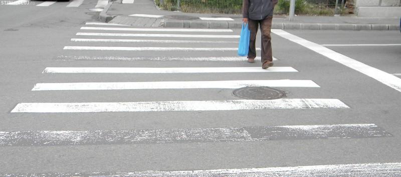 Un tânăr din Bălți accidentat pe trecerea pietonală