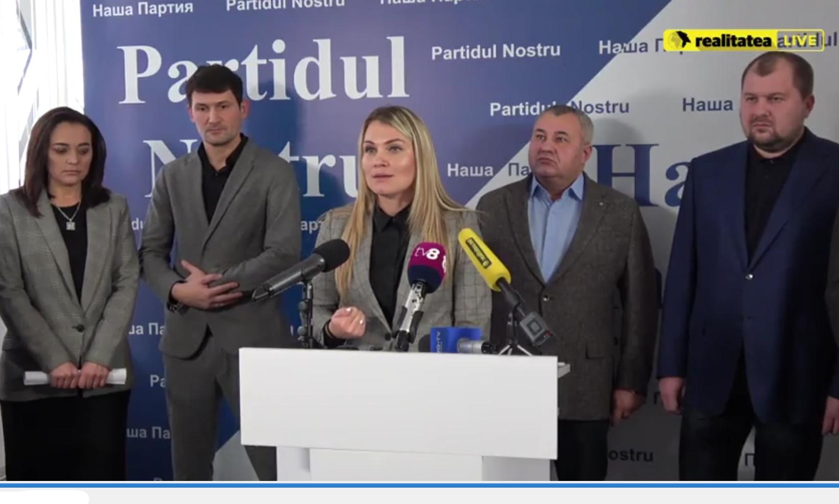 """""""Partidul Nostru"""" riscă să fie eliminat din campania electorală"""