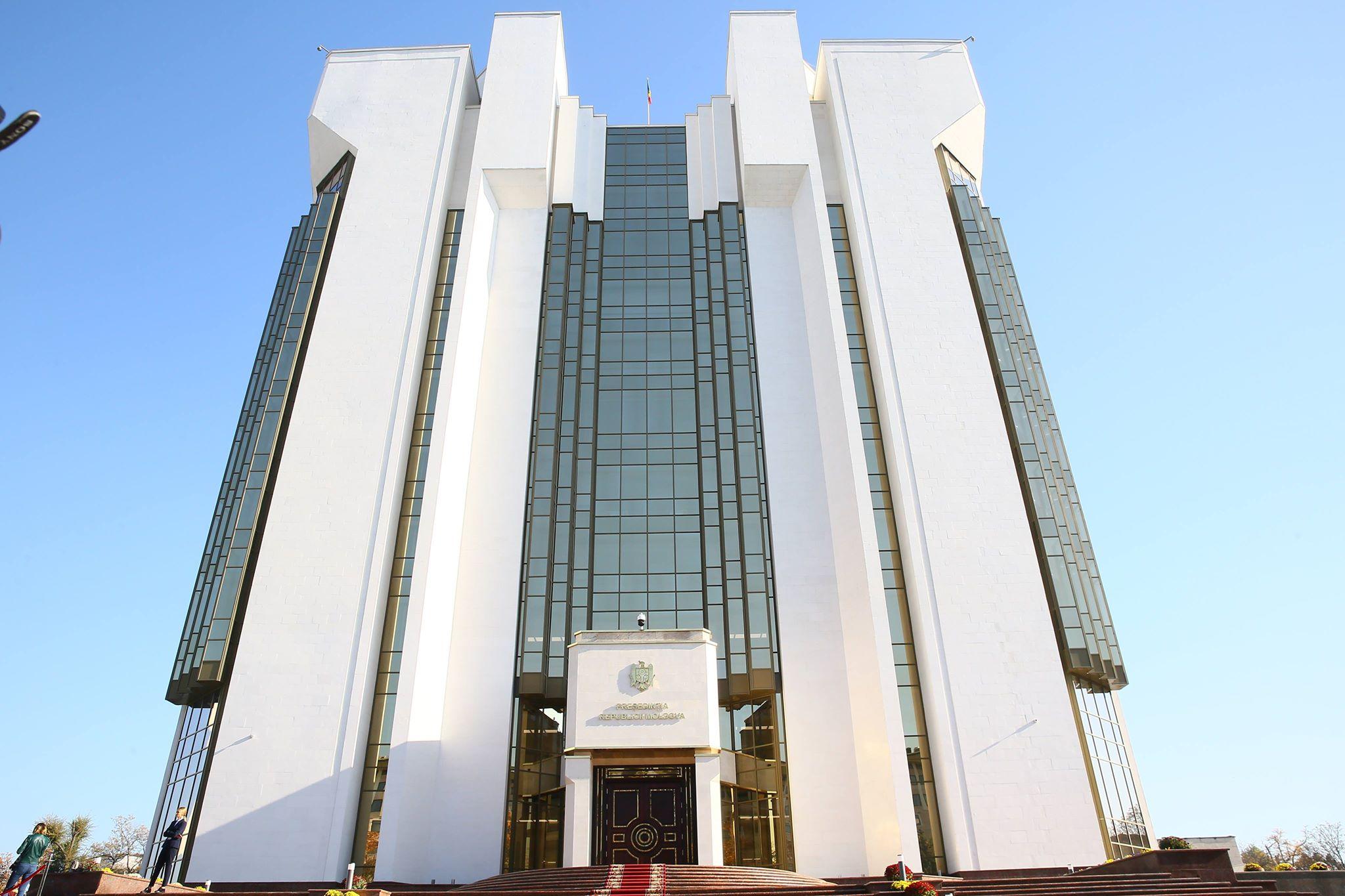 Structura Aparatului Președintelui Republicii Moldova a fost modificată