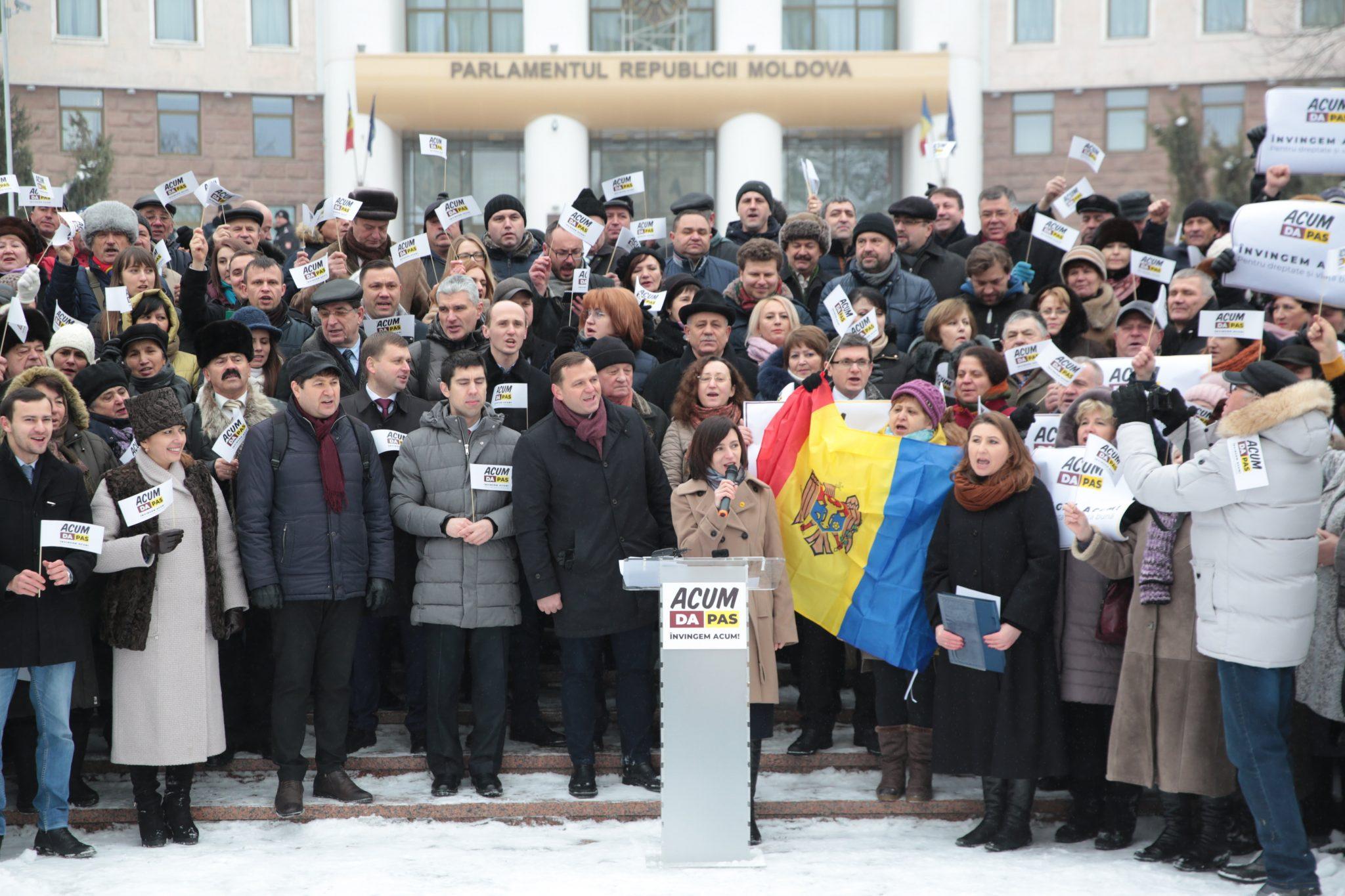 """Blocul Electoral """"ACUM"""" s-a lansat în campania electorală"""