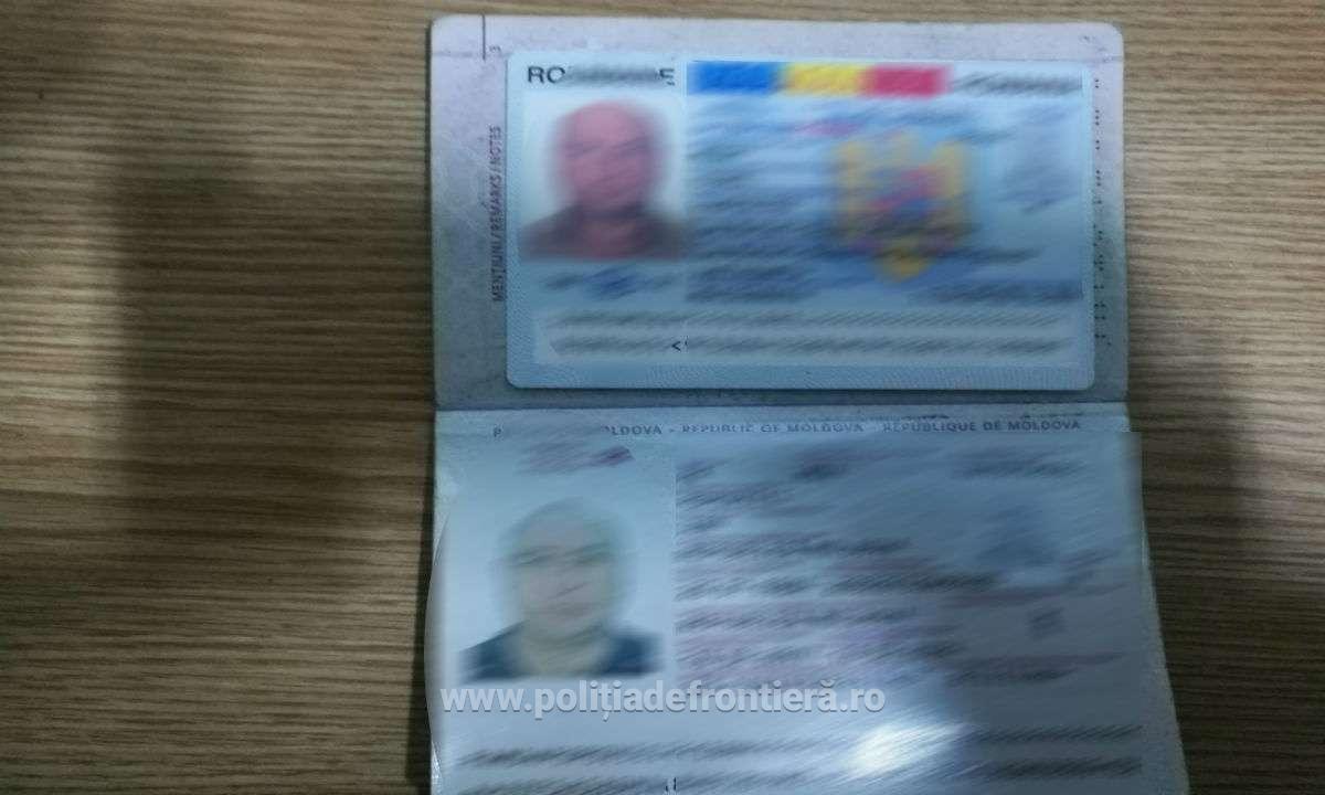 Încă un moldovan reținut la vama Stânca pentru acte false