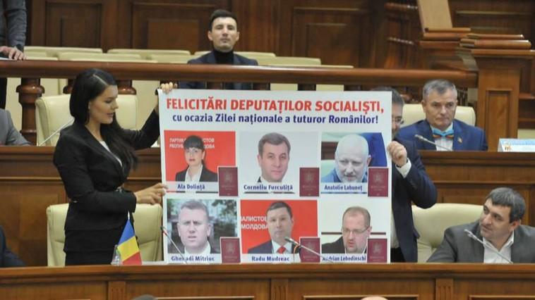 Șase deputați PSRM nu renunță la cetățenia română