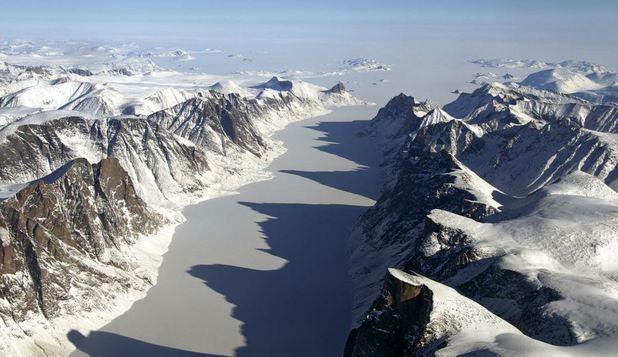 Încălzirea globală scoate la iveală un peisaj nevăzut timp de 40.000 de ani