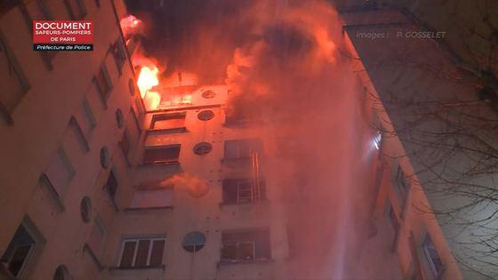 Incendiu violent, izbucnit într-o clădire rezidenţială din Paris. Bilanţ provizoriu: 7 morţi şi mai mulţi răniţi