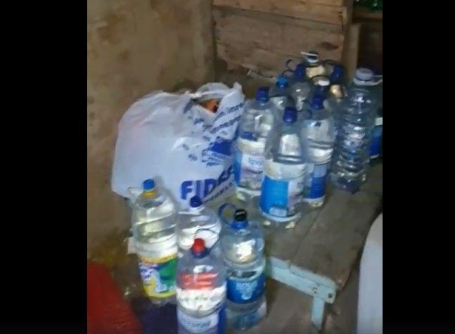 VIDEO | Alcool etilic contrafăcut, depistat de polițiștii din Bălți