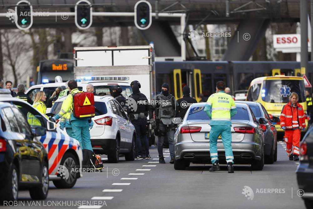 Incident armat în Olanda, soldat cu mai mulți răniți