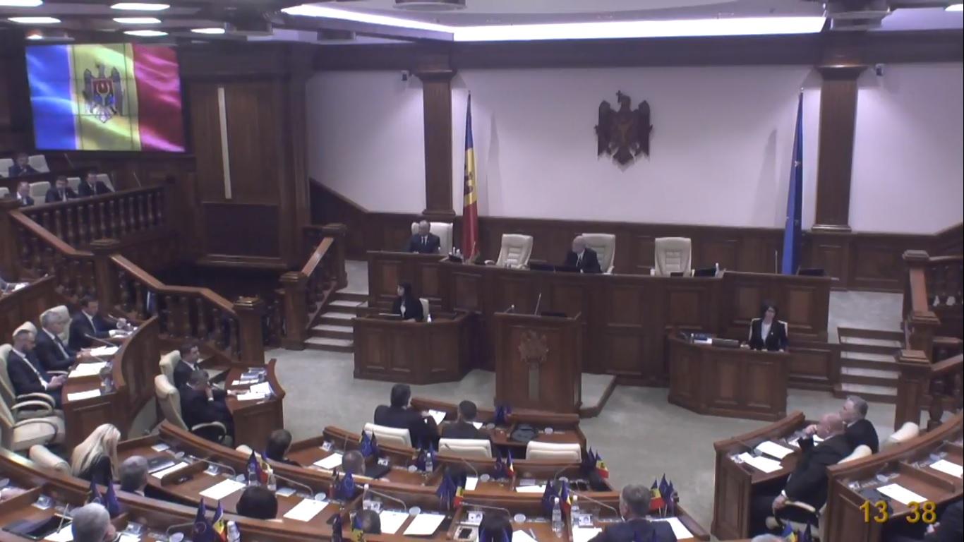 Prima ședință a Parlamentului s-a încheiat din lipsa majorității