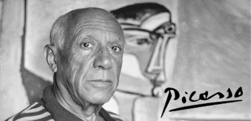O carafă pictată de Picasso a fost uitată într-un tren. Poliția cere ajutorul