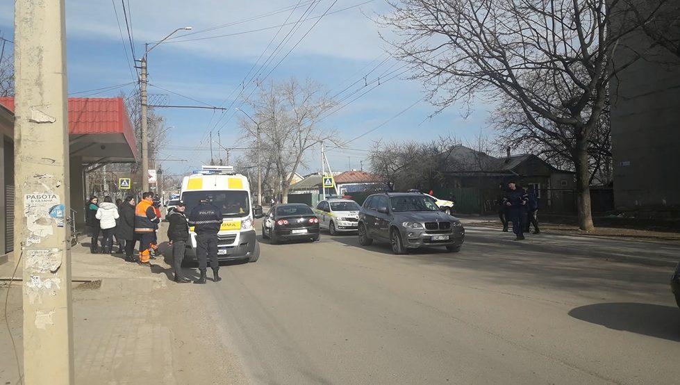 VIDEO/ FOTO | Un copil în vârsta de 12 ani, lovit pe o stradă din Bălți