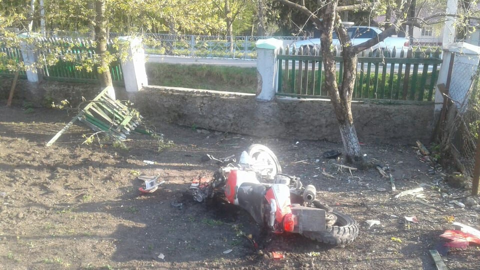 Un tânăr din Văscăuți, Florești a suferit un grav accident de motocicletă