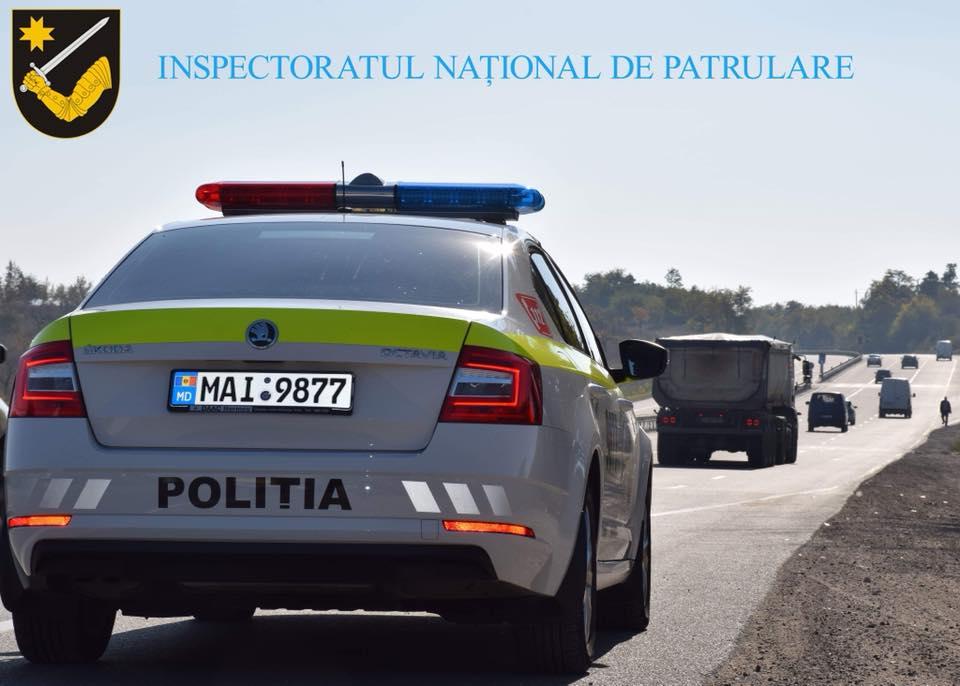 Conform datelor Inspectoratul Național de Patrulare, în acest weekend au fost înregistrate peste 1 000 încălcări ale circulației rutiere