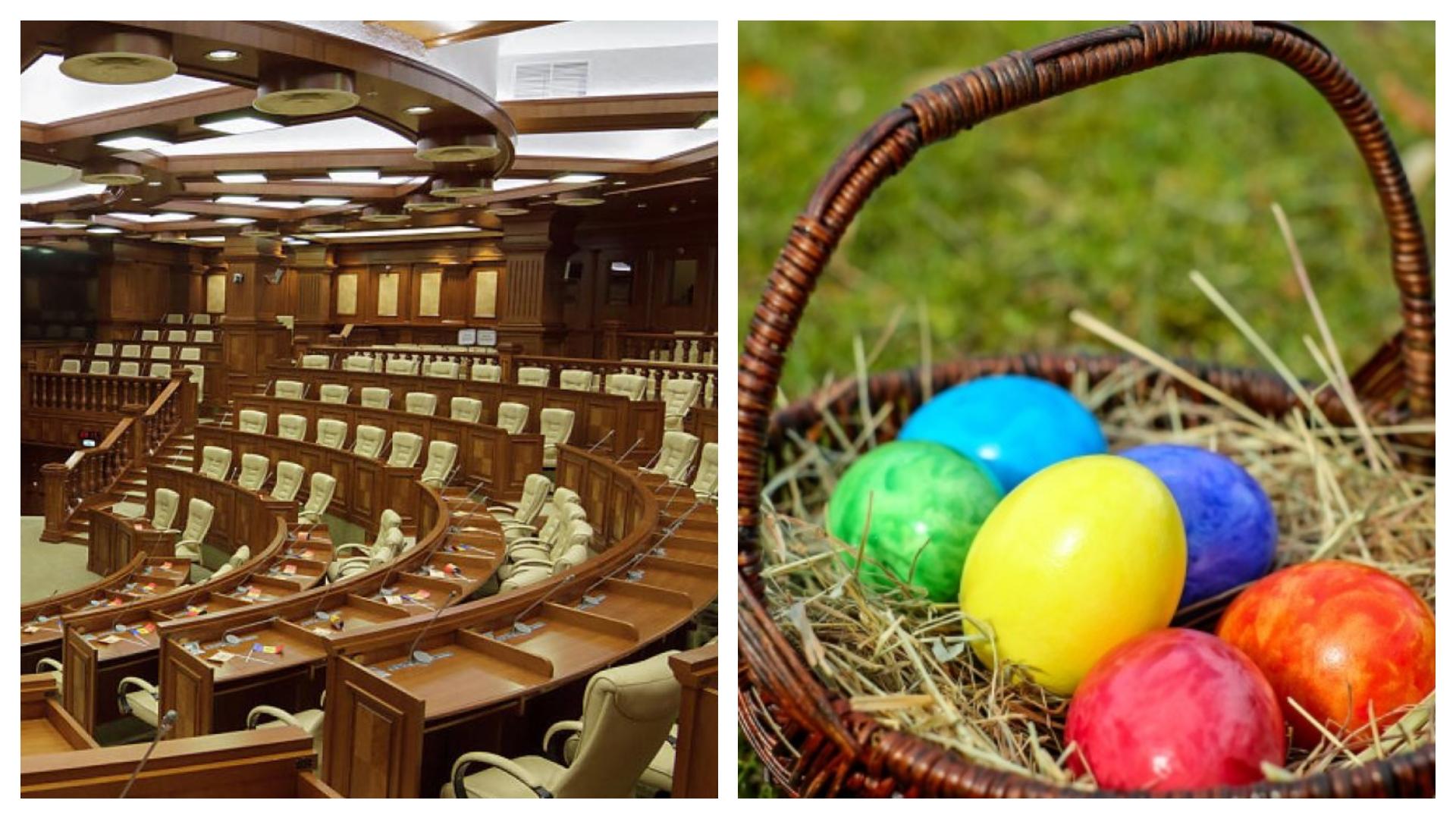 Anatol Moraru //N-avem Parlament, dar ne pregătim de Paște