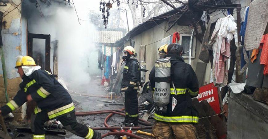 Un bărbat din Danu, Glodeni a ars în propria casă