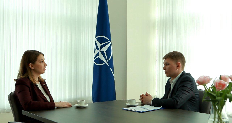 NATO  la 70 de ani. Interviu cu  Kristina Baleisyte, Șefa Oficiului de Legătură NATO în Republica  Moldova