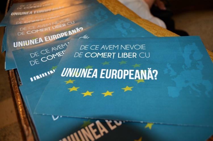 """Ziua Europei, celebrată la Bălți. Directorul ADR Nord: """"Ziua Europei a devenit o frumoasă tradiție în regiunea noastră"""""""