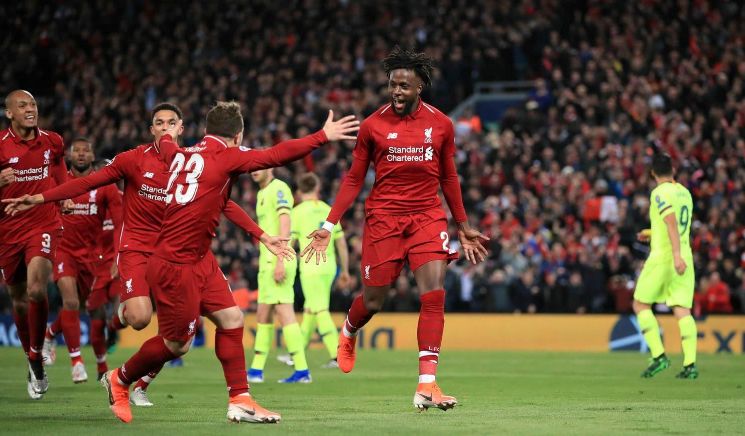 """Liverpool – Barcelona 4-0. """"Cormoranii"""" joacă a doua finală consecutivă în Champions League, după o revenire istorică"""