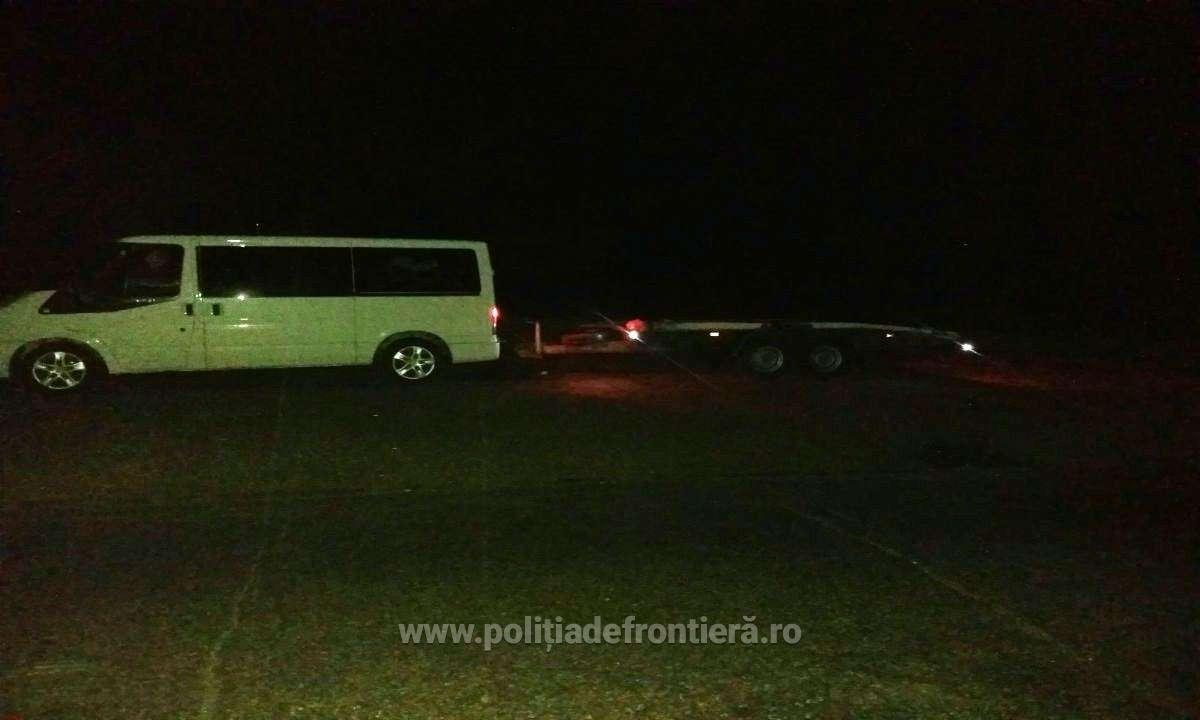 FOTO   Șofer depistat la controlul de frontieră cu permis de conducere necorespunzător
