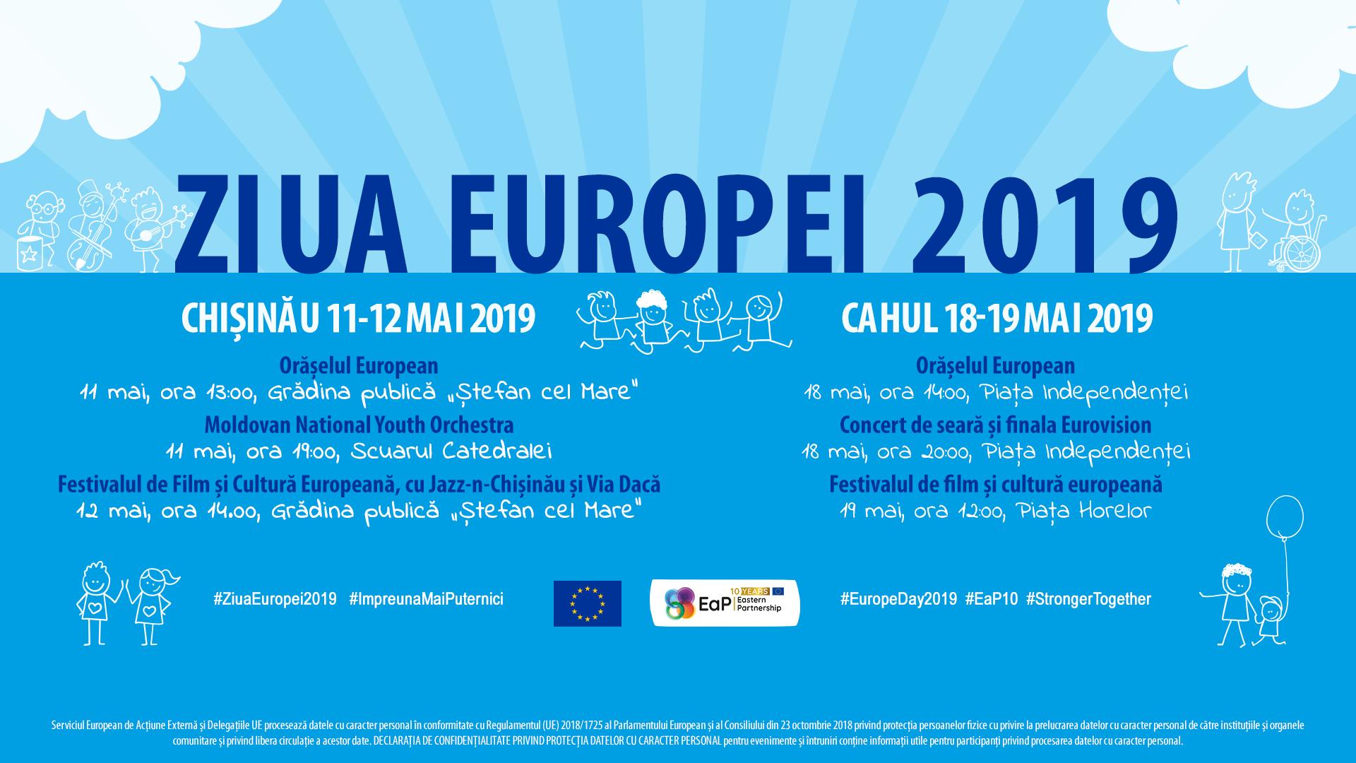 Vino să sărbătorim Ziua Europei, pentru că împreună suntem mai puternici!