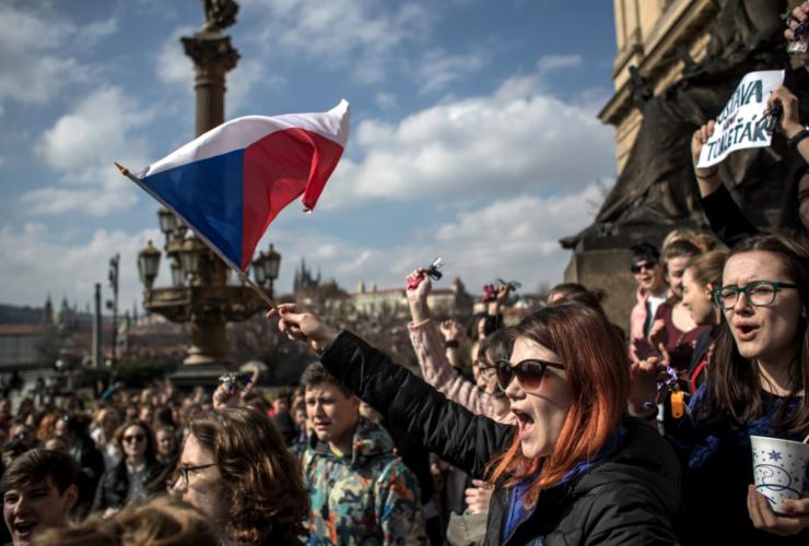 Noi proteste în Cehia împotriva ministrului justiţiei Marie Benesova